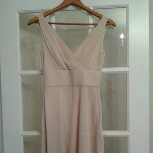 J.Crew Sleeveless Silk Dress, Size 0